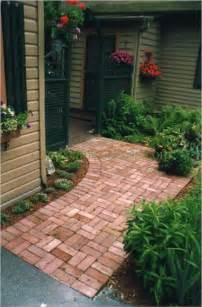 Ideas For Brick Sidewalk Design Paver Walkway Design Ideas