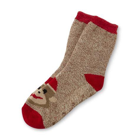 sock monkey slippers studio s s slipper socks monkeys