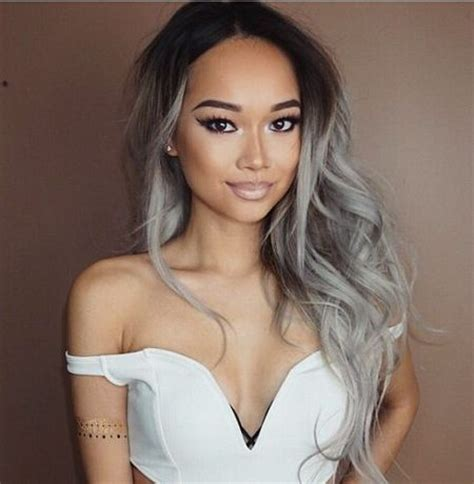 black at root of hair 2017 hair colors with colorful roots best hair color