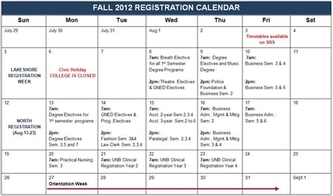 Lsus Mba Program Class Schedule 2017 by Search Results For 2012 Academic Calendar Calendar 2015