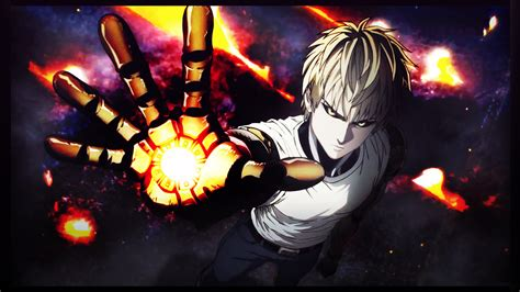wallpaper 4k one punch man one punch man wallpaper genos by miria lorailes on