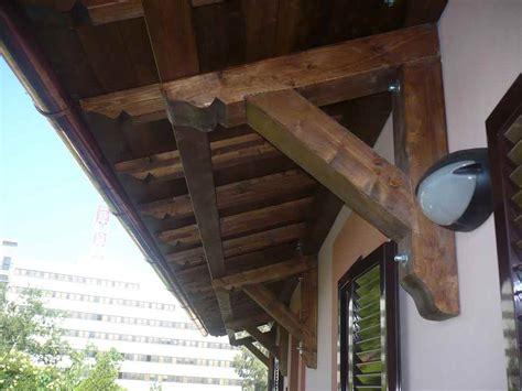 tettoia in legno a sbalzo tettoia a sbalzo roma castelli romani