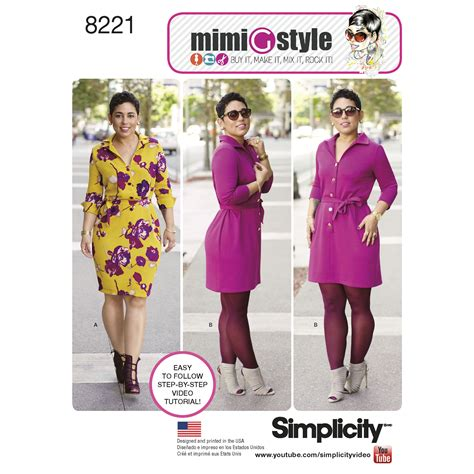 Fayette Skirt 8221 67 simplicity 8221 mimi g style dress for miss and plus sizes