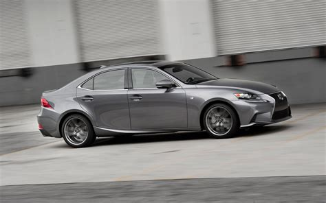 lexus is 250 2014 2014 lexus is 250 f sport test motor trend