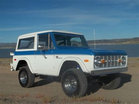 Ready Custom Ford Bronco Biru Blue Wheels Hw Hotwheels find used 1974 ford bronco sport 302 in elephant butte new mexico united states for us 13 950 00