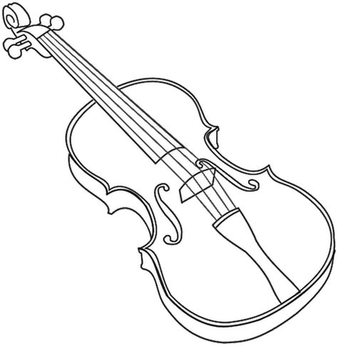 printable violin template violin outline bold music instruments violin violin