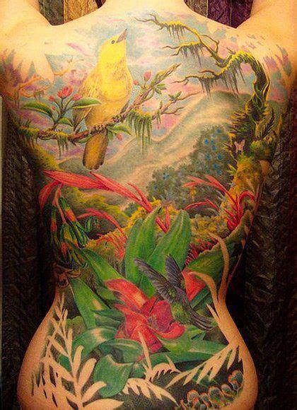 tattoo back forest rain forest full back tattoo most amazing back tattoos