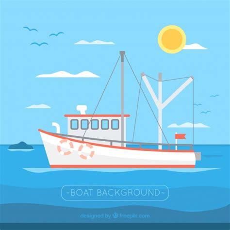 barco navegando animado fondo de barco pesquero navegando descargar vectores gratis