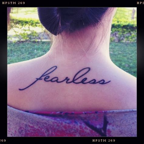 love fearlessly tattoo best 25 fearless tattoos ideas on