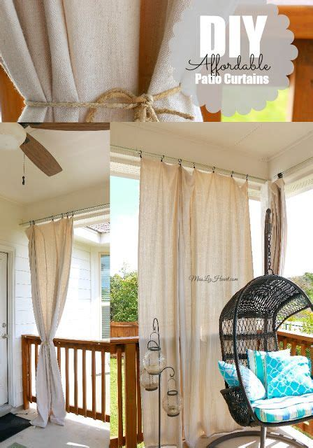 cheap easy curtains diy cheap easy patio curtains everything can be found