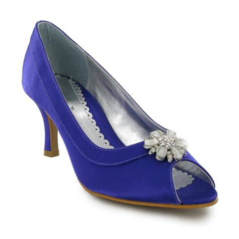 womens purple wedding bridal dress shoes size 5 us ebay
