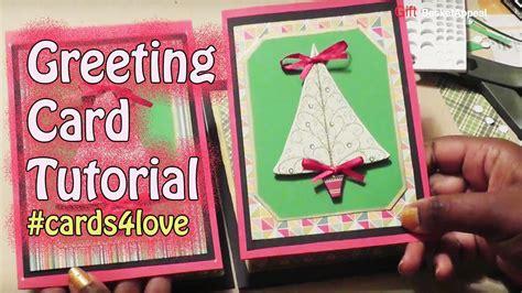 youtube carding tutorial cards4love greeting card tutorial giftbasketappeal