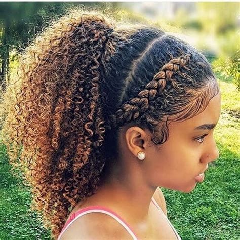 ponytail styles for natural hair 50 cute natural hairstyles for afro textured hair hair