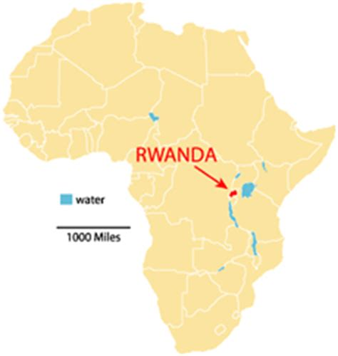 africa map rwanda rwanda land of 1000 where is rwanda in africa
