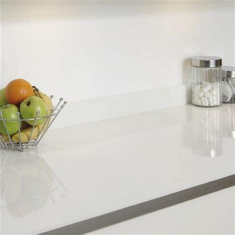 White Glass Effect worktop   Kitchen worktops   Howdens
