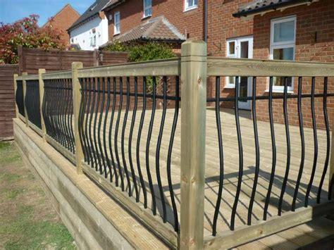 Decking Balustrade Garden Decking Deck Balustrades In Kent And