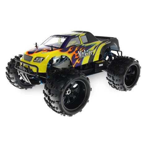 hsp nitro monster hsp 94862 08316 black rc monster truck at hobby warehouse
