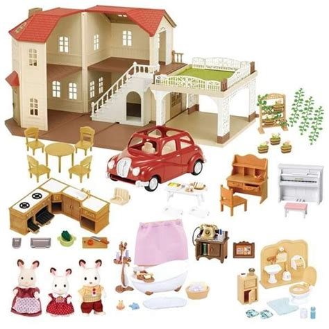 Sylvanian Family Maple Manor With Carport by 38 Best Calico Critters Larger Homes Images On