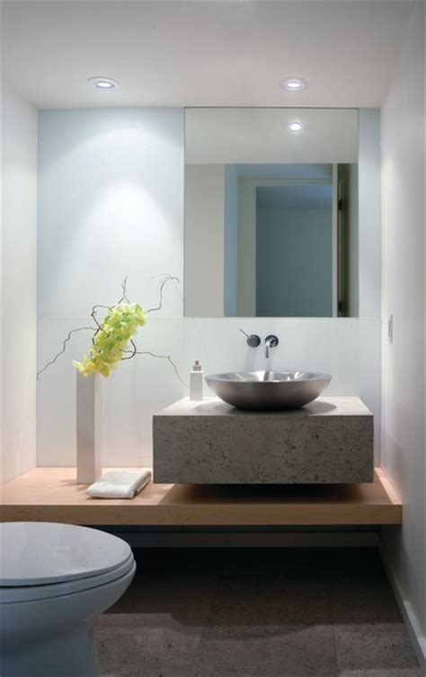 contemporary powder rooms modern simplicity contemporary powder room other