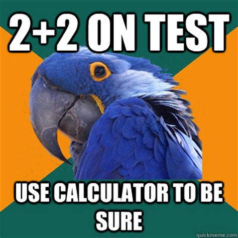 Paranoid Parrot Memes - paranoid parrot says what we are all thinking weknowmemes