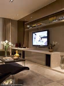 como decorar e integrar a sala de estar e home theater