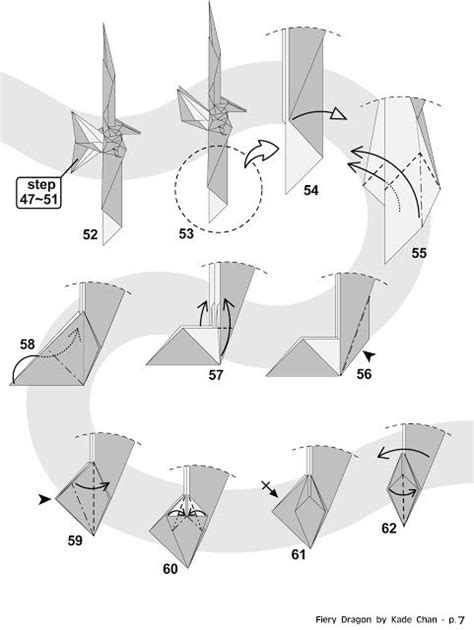 tutorial origami vespa kade chan origami blog 香港摺紙工作室 日誌 fiery dragon