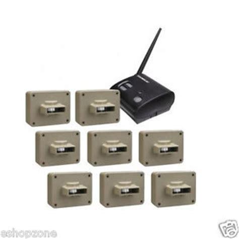outdoor wireless motion 8 sensor alert alarm security