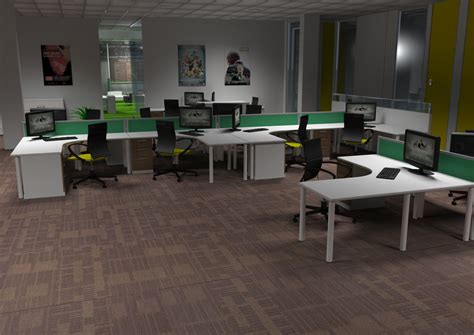 Office Space Login Cluster Desks Office Space By Branchdesigns On Deviantart