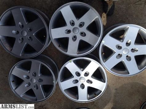 Jeep Rims For Sale Armslist For Sale Trade Jeep Wheels