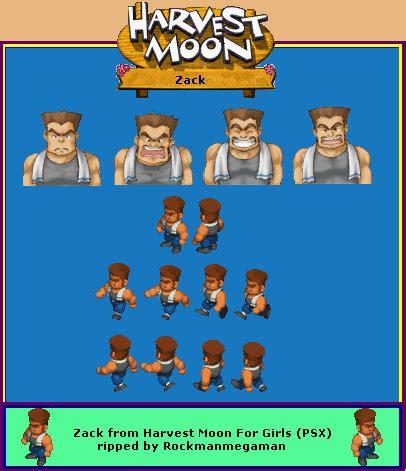 Gantungan Kunci Harvest Moon Karakter Zack playstation harvest moon for zack the spriters resource