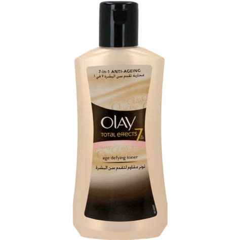 Toner Olay Total Effect olay total effects 7 in 1 age defying toner 200ml clicks