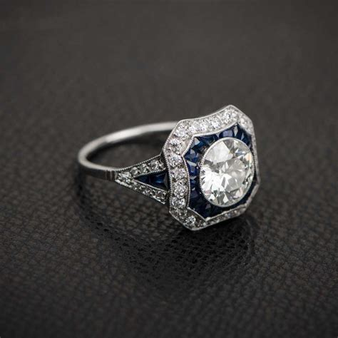 Estate Engagement Rings by Estate Rings New York Wedding Promise