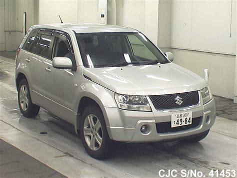 2005 Suzuki Grand Vitara For Sale 2005 Suzuki Escudo Grand Vitara Silver For Sale Stock No