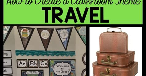 travel themed classroom decorations clutter free classroom travel themed classroom ideas