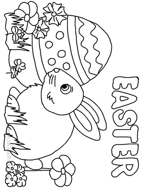 printable happy easter coloring pages archives within
