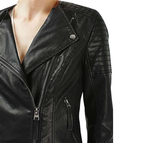 ladies leather motorcycle black motorcycle leather jacket for womens motorcycle