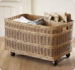 Ballard Designs Curtains rolling storage basket