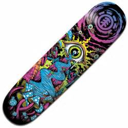 element deck element skateboards element trippin skateboard deck 7 75