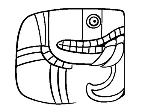 Mayan Art Coloring Pages Coloring Pages Mayan Coloring Pages