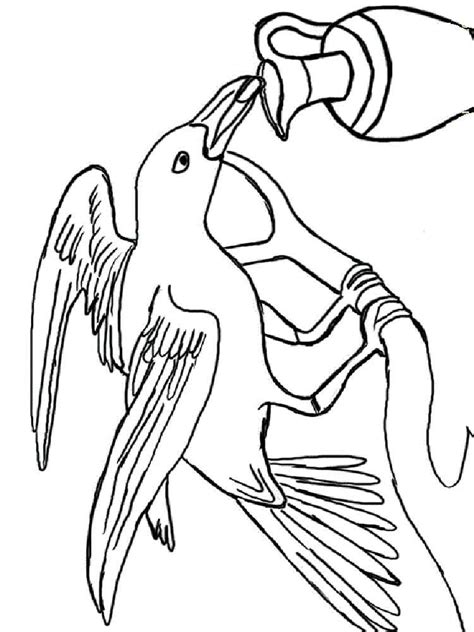 crow bird coloring page crows coloring pages
