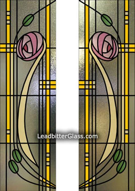 Leaded Glass Kitchen Cabinets mackintosh split glazed door glass uk