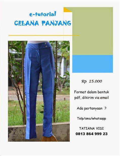 Sew Celana Panjang Bioblitz tatiana vidi sewing free tutorial 27 saku celana