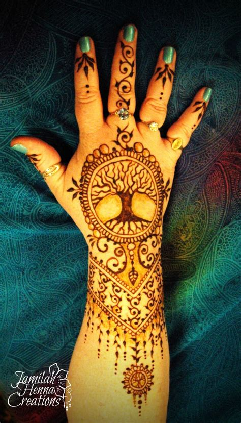 tree henna tattoos best 25 henna tree ideas on cool henna