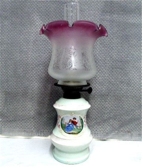 porcelain base l with chimney and shade 495 from
