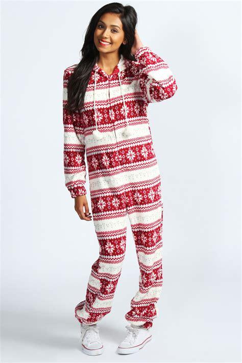 Images Of Christmas Onesies | boohoo adult christmas novelty onesie ebay