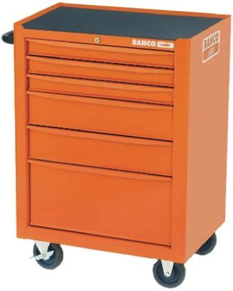 Wheeled Drawers by 1470k6 Bahco 6 Drawer Wheeled Tool Chest 950mm X 667mm X 501mm Bahco