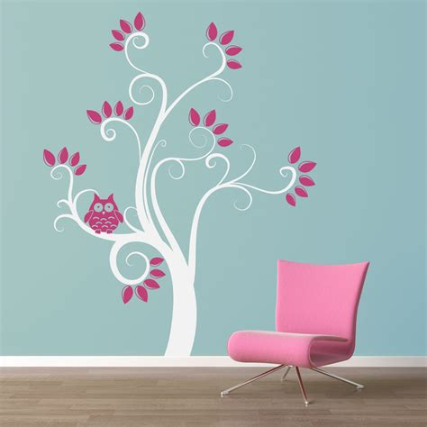 owl and tree wall stickers owl tree wall decal roselawnlutheran