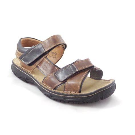Sandal Casual Black Master softwalk brown and black leather mens casual sandal softwalk from size4footwear uk