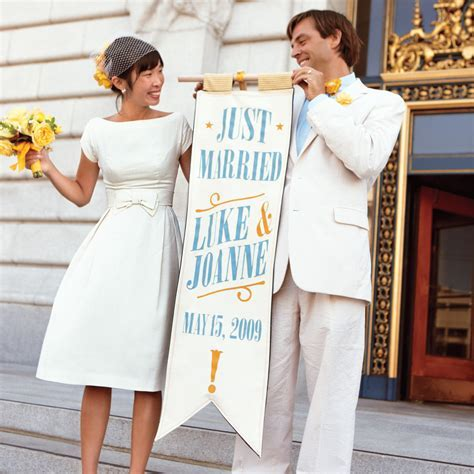 20 City Hall Wedding Dress Ideas for Making It Official in
