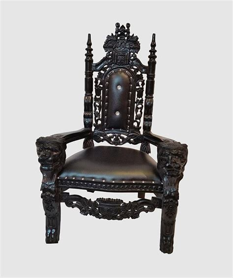 black throne chair chairs royalty furniture store